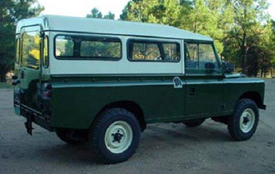 , Series I, II, III, Vis Land Rover, Vis Land Rover