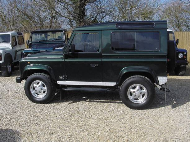 Protectie Land Rover Defender, Protectie Land Rover Defender, Vis Land Rover
