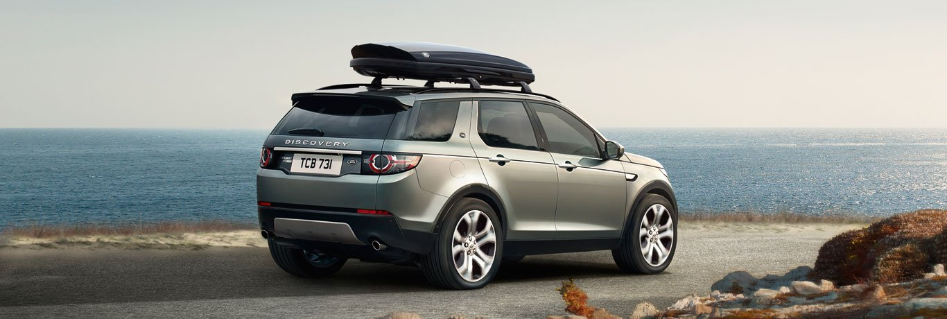 , Dakdraagsystemen Discovery Sport, Vis land rover