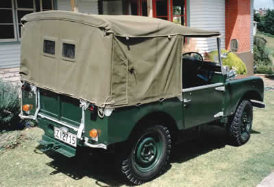 , Canvas Softtops, Vis Land Rover, Vis Land Rover