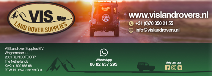 , Wintercheck, Vis Land Rover, Vis Land Rover